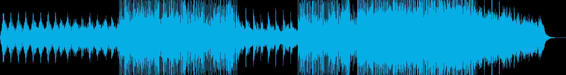 映像のためのポップインストー水晶の再生済みの波形
