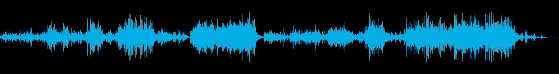 C=528Hz 癒しのピアノ ゆったりの再生済みの波形