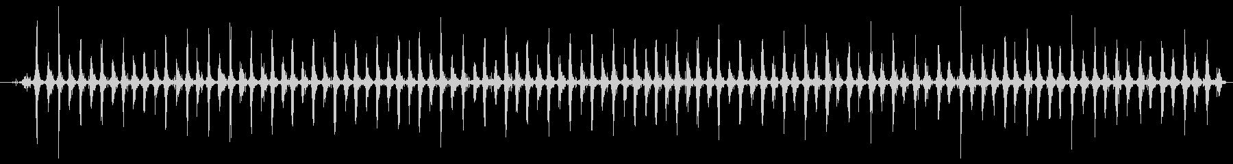 シェーカー ウッドラトルスローハード01の未再生の波形