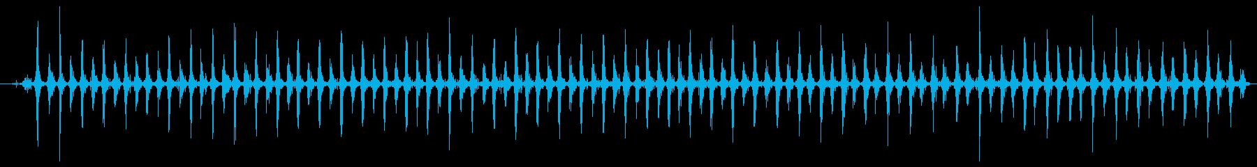 シェーカー ウッドラトルスローハード01の再生済みの波形