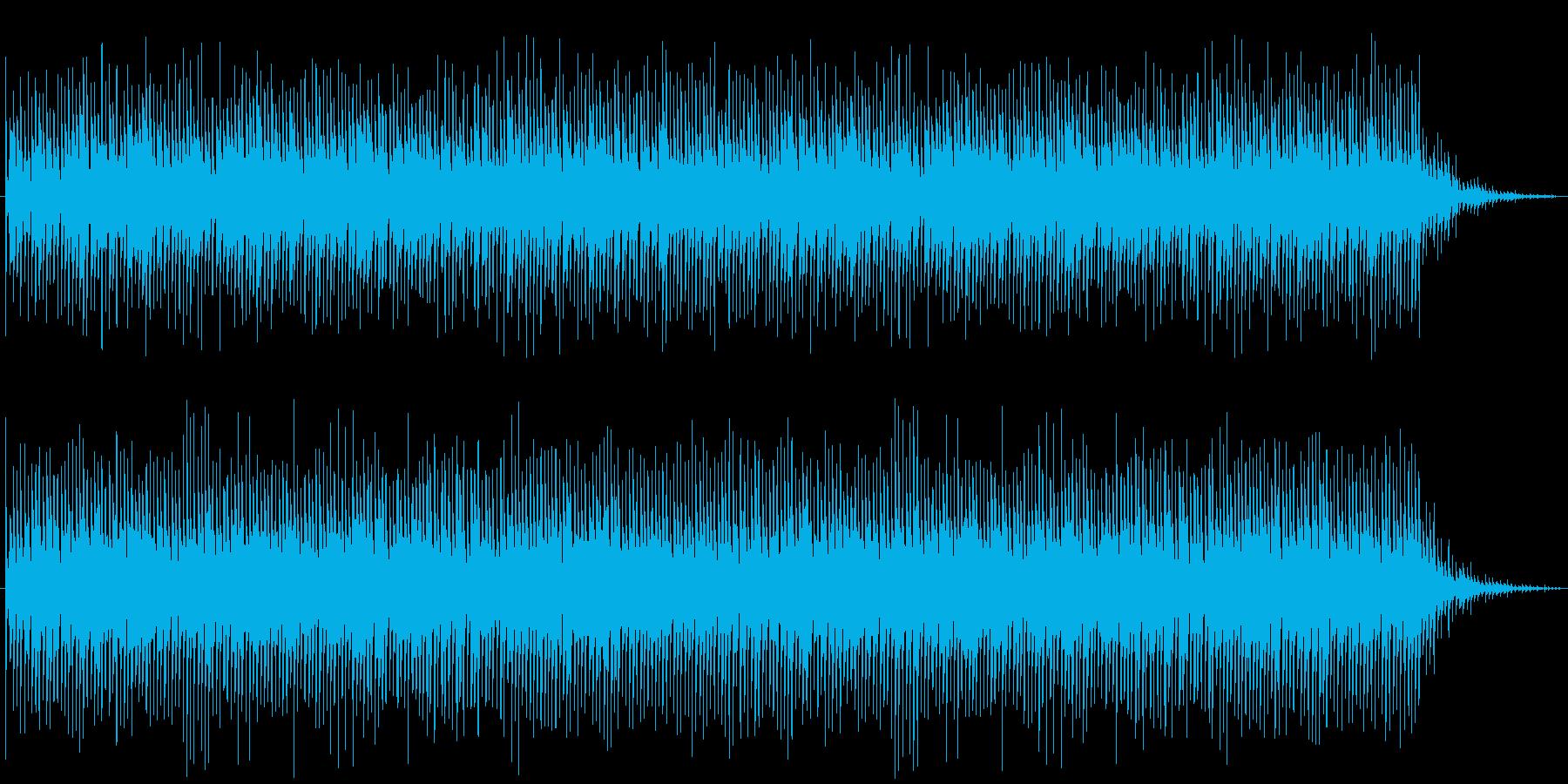 琴の響きがエキゾチックな和風BGMの再生済みの波形