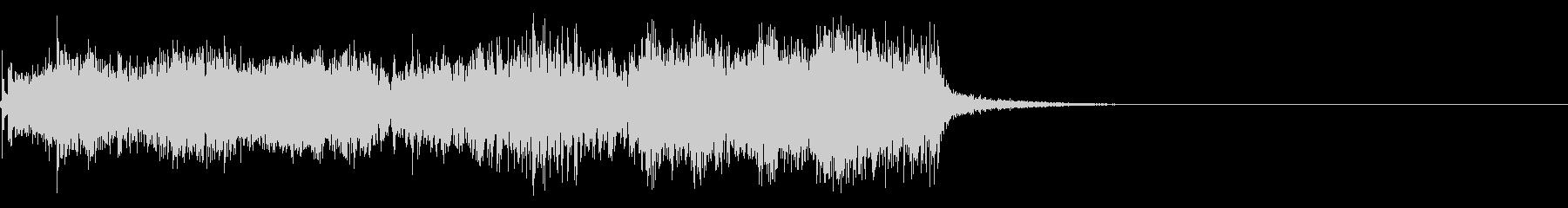 スパーク音-20の未再生の波形