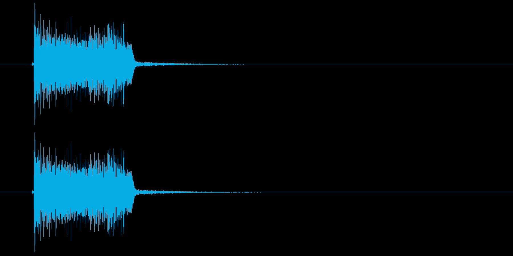 デーレレン(ギター音)の再生済みの波形