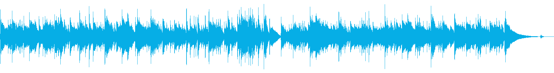 シリアスなソロギター/生演奏の再生済みの波形