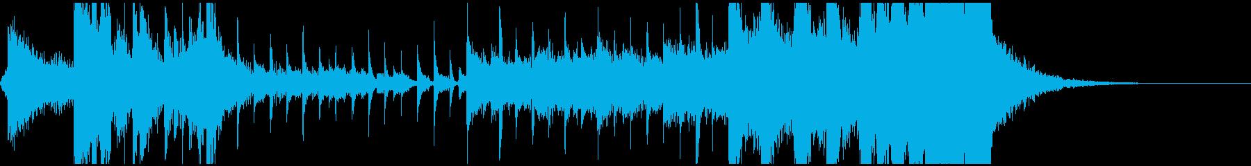 クイズシンキングタイムSE15秒タイプの再生済みの波形