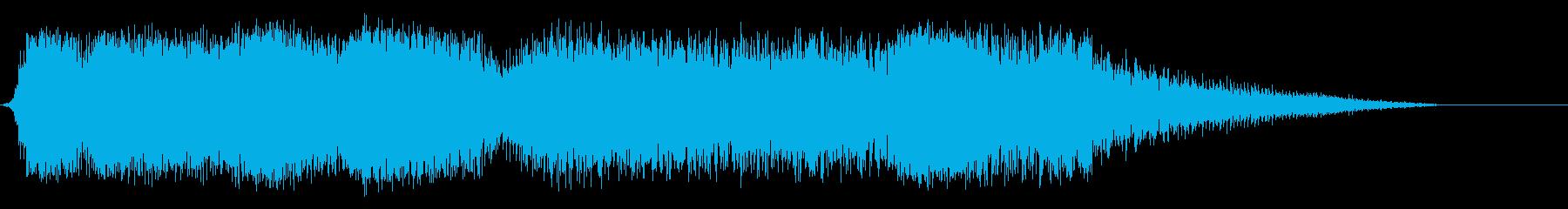 内なる獣の再生済みの波形
