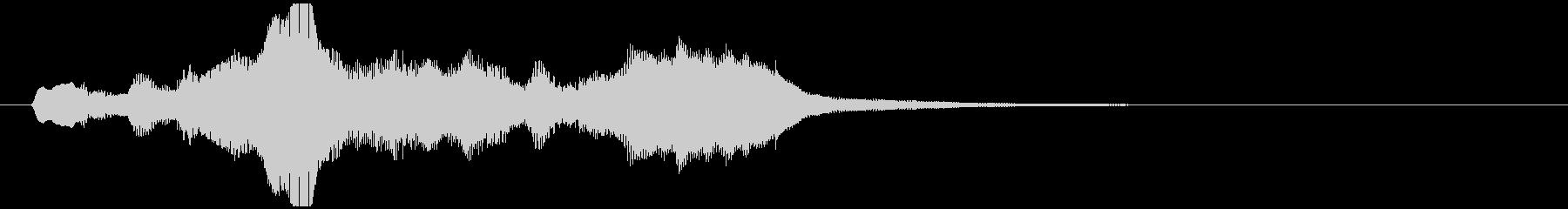 のほほんジングル008_おっとり-3の未再生の波形
