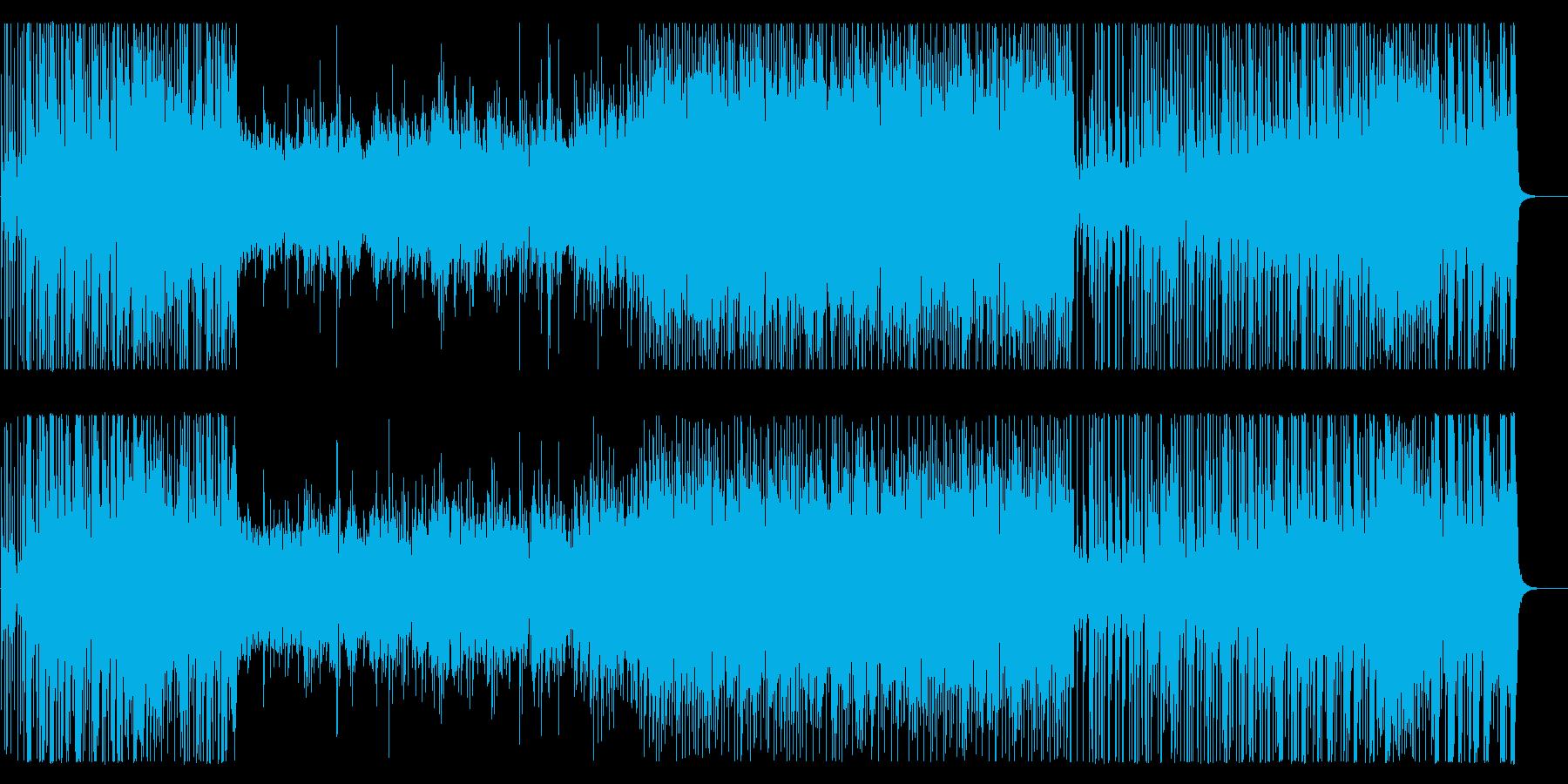 インストゥルメンタルポップギターと...の再生済みの波形