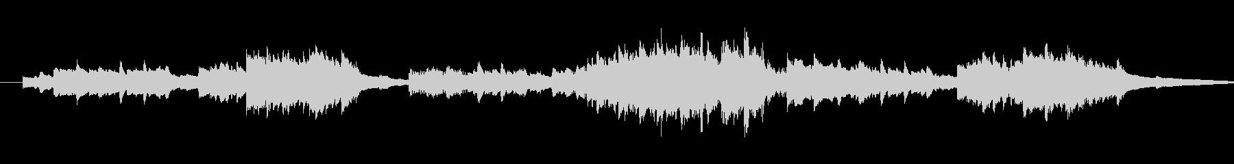 きらきら星 変奏10(リピート無し)の未再生の波形