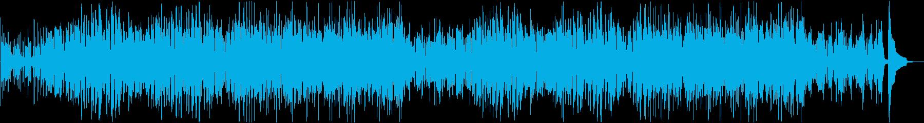 コミカルでかわいい渋谷系スウィングポップの再生済みの波形