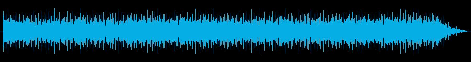 ショートBGM:シリアス・内生的02の再生済みの波形
