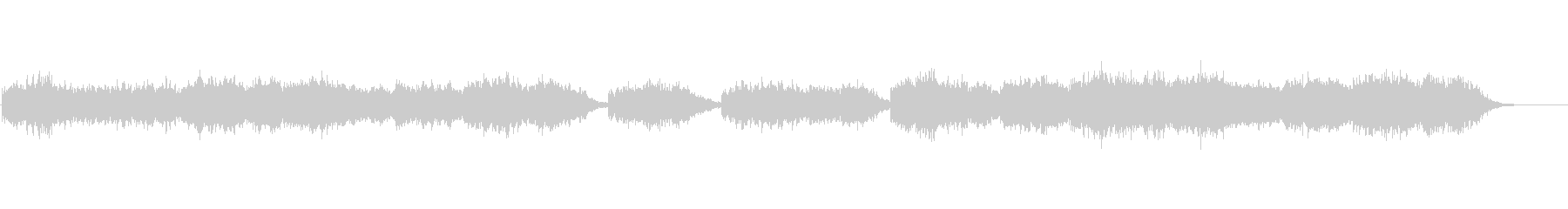 伝統的なクリスマス曲の未再生の波形
