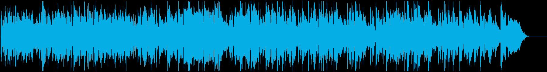 爽快エキサイティングなジャズ ※60秒版の再生済みの波形