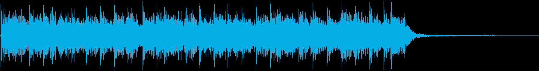 アイキャッチ/バトル/次回予告/決闘の再生済みの波形