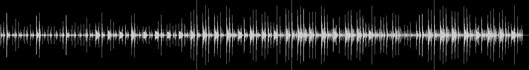ほのぼのした場面などに使えるシンプルな曲の未再生の波形