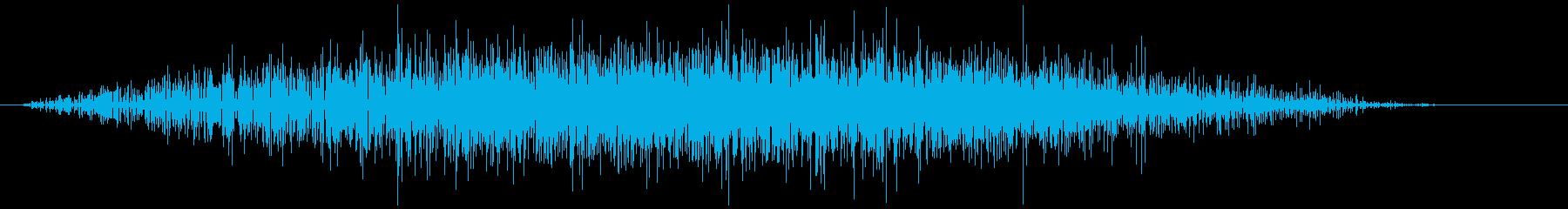 炭酸 弾ける音(しゅわわ)の再生済みの波形
