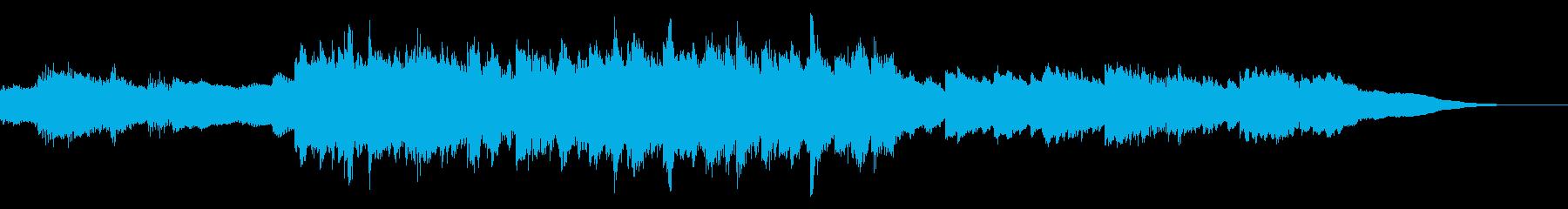 ダークで神秘的な倍音のある童nur...の再生済みの波形