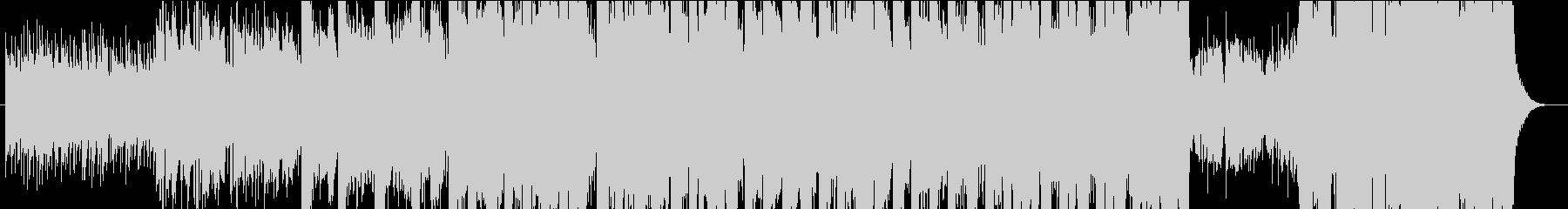 マンドリン、バイオリンを用いた月の歌の未再生の波形