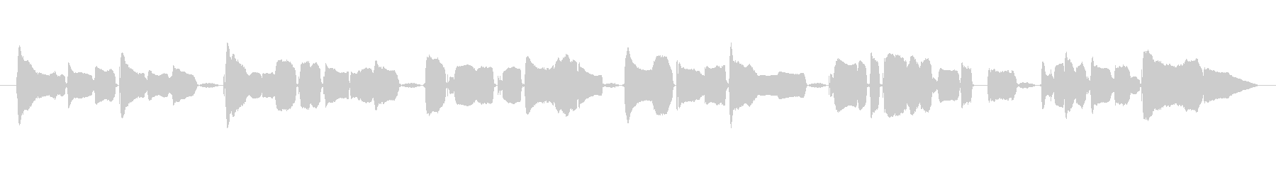 Kagome Kagome female a cappella's unreproduced waveform