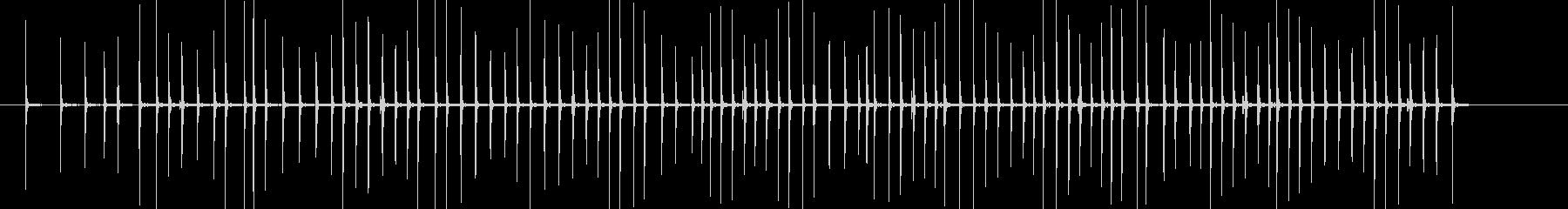 赤ちゃんのおもちゃラチェット(長い)の未再生の波形