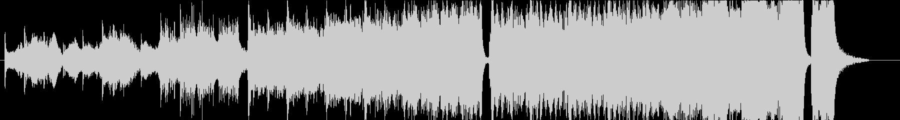ハリウッド系トレイラーオーケストラの未再生の波形