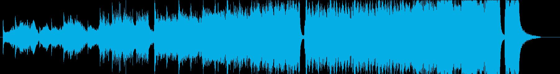 ハリウッド系トレイラーオーケストラの再生済みの波形