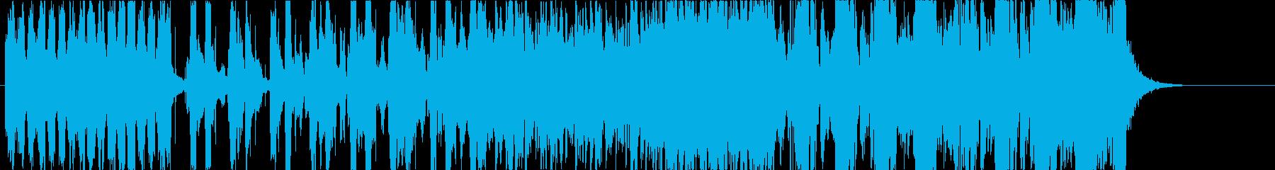 女声ボーカル×洋楽/透明感のあるEDMの再生済みの波形
