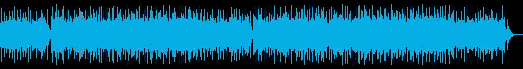 爽やかで明るい気持ちになれるアコギBGMの再生済みの波形