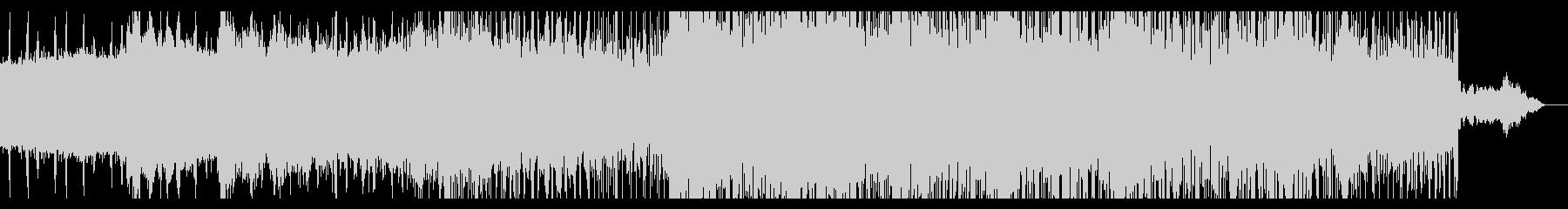 無機質でダークなアンビエントの未再生の波形