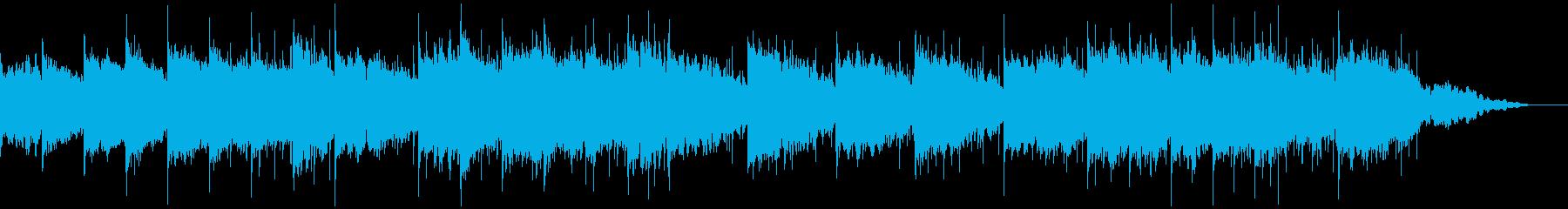映像に広がりのあるギターアンビエントの再生済みの波形