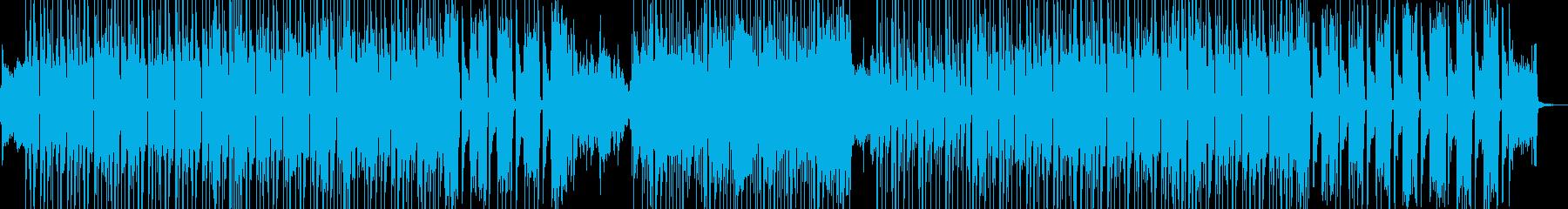 琴・三味線・近未来的で疾走するビート ★の再生済みの波形