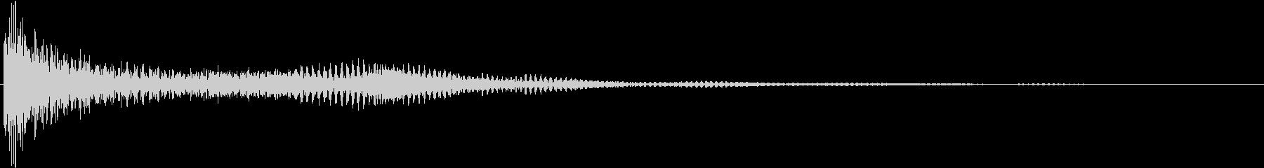 ティンパニ:高いティンパニ、輝きをの未再生の波形