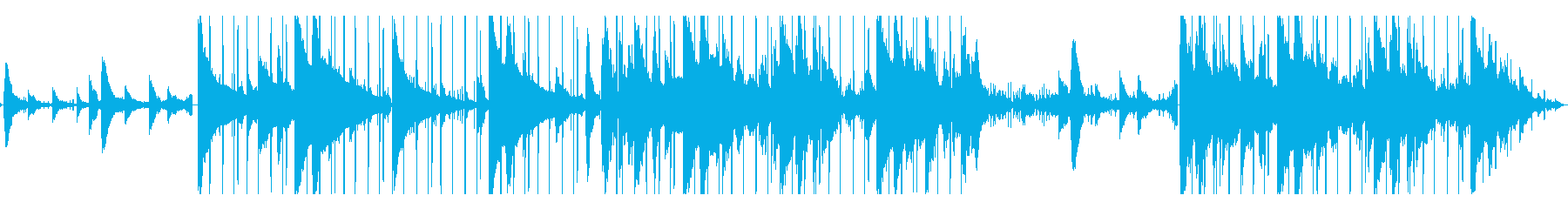 Lofi Hiphop/チル/切ないの再生済みの波形
