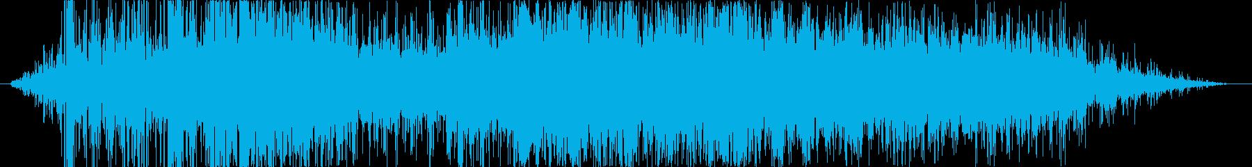 ヘビーロックスライドの再生済みの波形