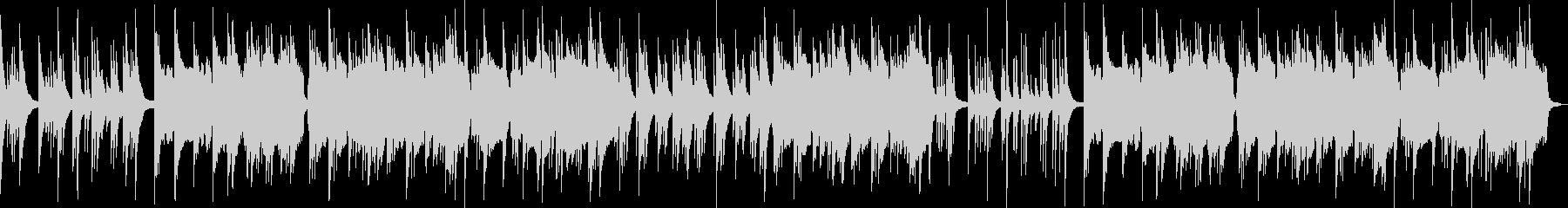 ほのぼのしたバラード音楽の未再生の波形