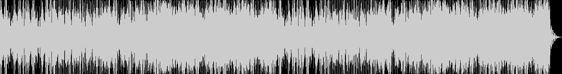 オシャレなノリ良いサックスEDMの未再生の波形