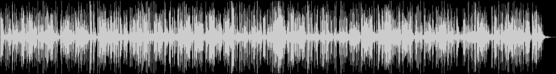 軽快なアコースティックジャズピアノトリオの未再生の波形