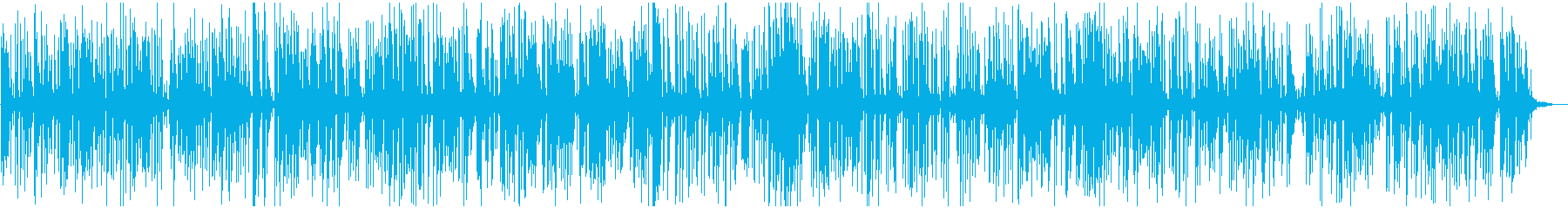軽快なアコースティックジャズピアノトリオの再生済みの波形