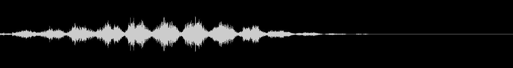 ホラー系導入音_その14の未再生の波形