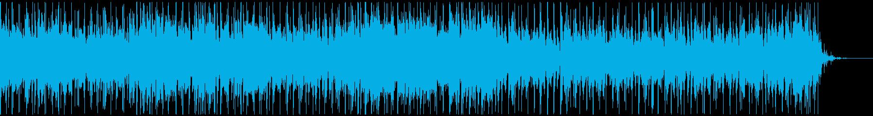 落ち着いたギターのスムースジャズBGMの再生済みの波形