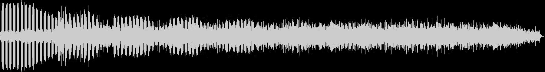 AMGアナログFX 28の未再生の波形