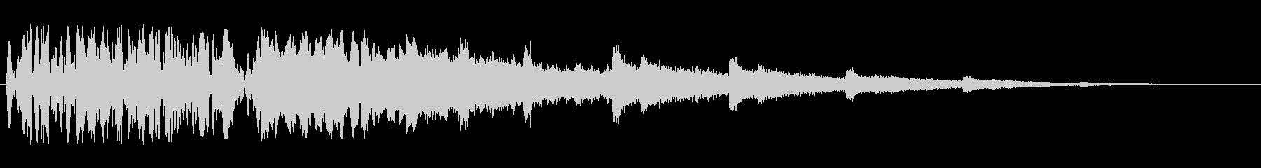 ブワッキラキラ(高低組み合わせの効果音)の未再生の波形