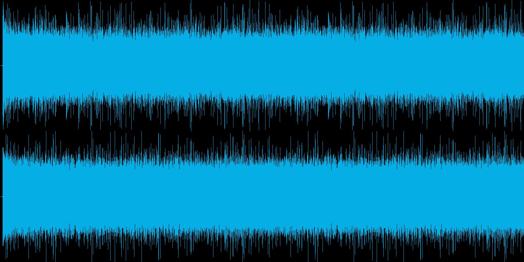 雨音(ジャー)の再生済みの波形