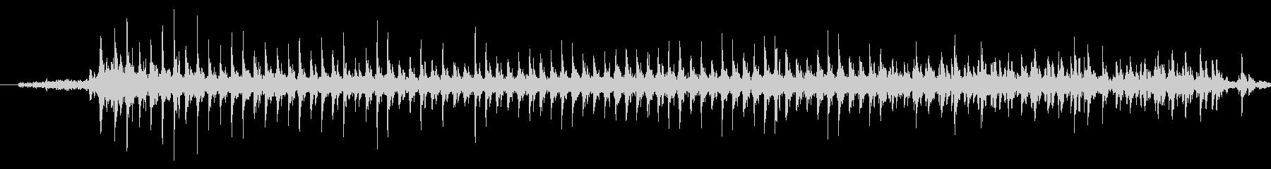 ドリルの音です。の未再生の波形