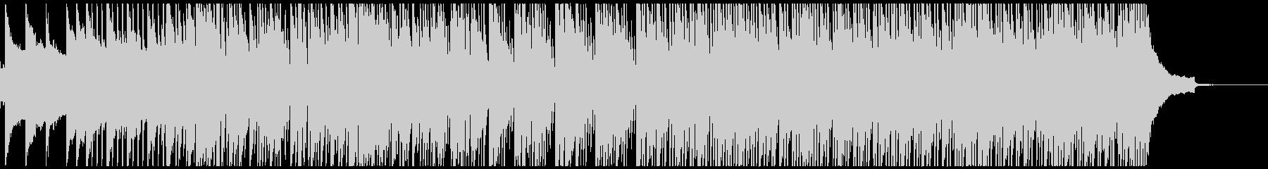 アコギとピアノの爽やかなBGMの未再生の波形