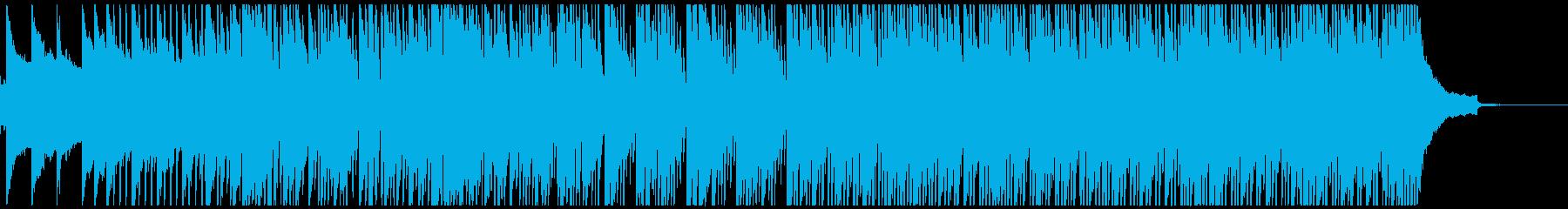アコギとピアノの爽やかなBGMの再生済みの波形