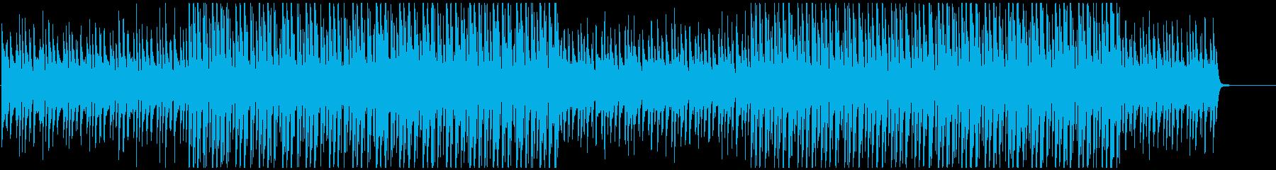 チルアウトで近未来・おしゃれなエレクトロの再生済みの波形