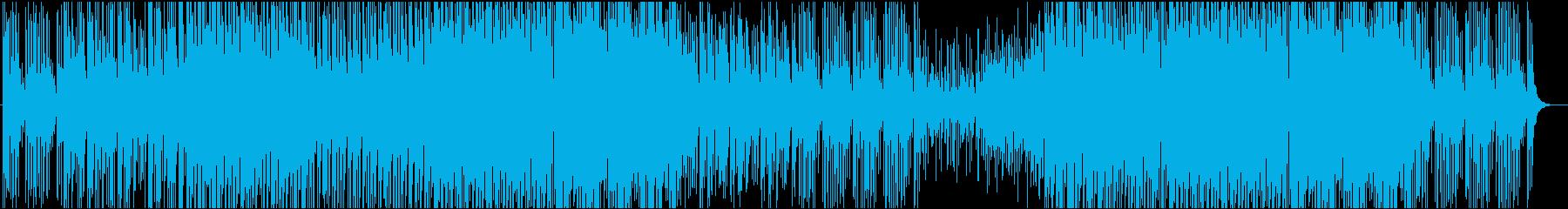 気分転換でリフレッシュできる爽やかな楽曲の再生済みの波形