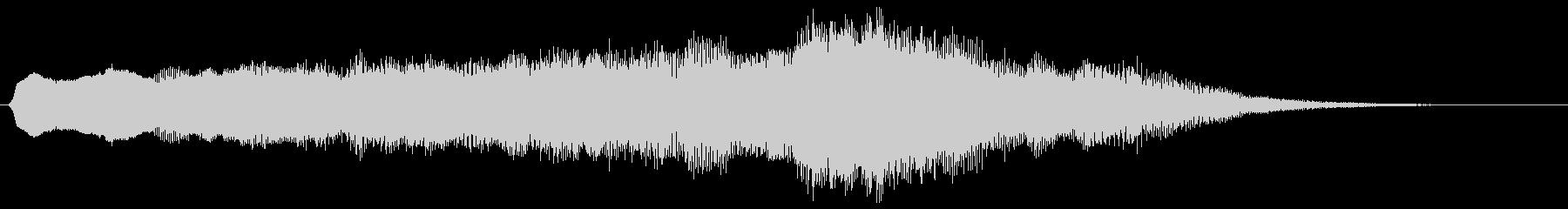電子シンセ:ソフトミュージカルステ...の未再生の波形