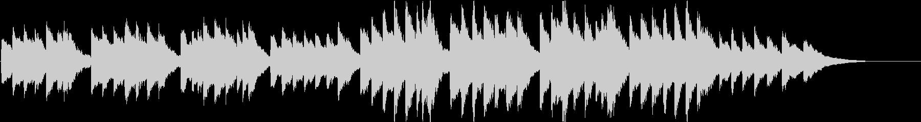時報・チャイム風の名曲のメロディ・27の未再生の波形